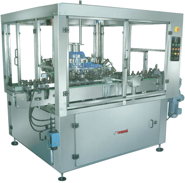 Automatic Rotary Rinsing Machine