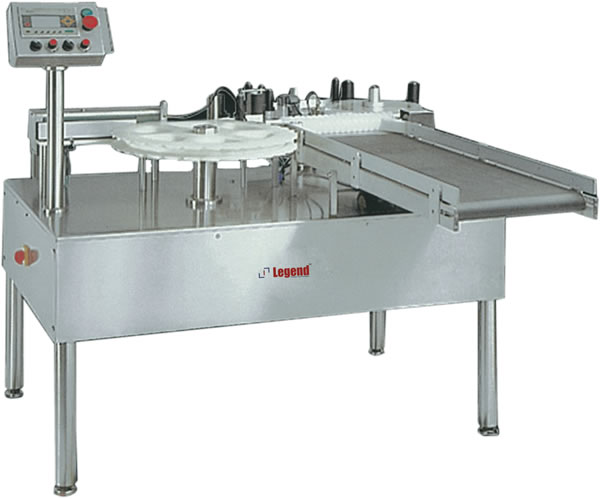 Automatic Self Adhesive Ampoule  Vial Labelling Machine