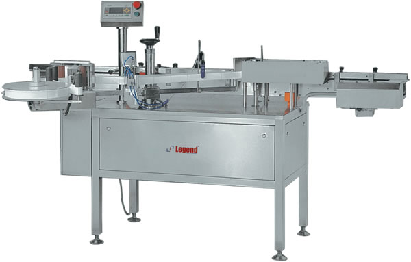 Automatic high speed Self Adhesive Round Container Labelling Machine