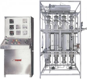 Multi Column Distillation Unit